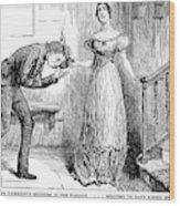 Dickens Martin Chuzzlewit Wood Print