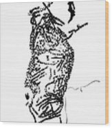 Dinka Corset - Manlual - South Sudan Wood Print