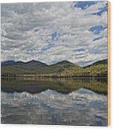 Elk Lake  Wood Print