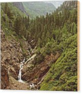 Engineer Pass In Colorado  Wood Print