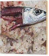 Fish Bait Wood Print