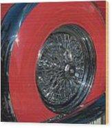 Ford Thunderbird Wood Print