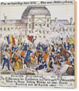 France Revolution, 1848 Wood Print