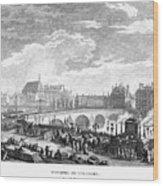 French Revolution, 1791 Wood Print