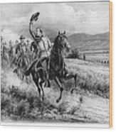 George Armstrong Custer (1839-1876) Wood Print