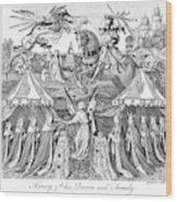 Henry V (1387-1422) Wood Print