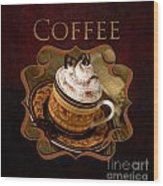 Cappuchino Coffee Gallery Wood Print