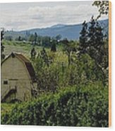 Hood River Wood Print
