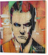 James Cagney Collection Wood Print