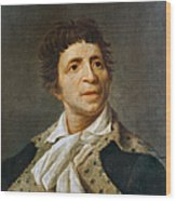 Jean-paul Marat (1743-1793) Wood Print