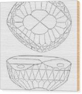 Koh-i-noor Diamond Wood Print