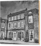 Langtons House England Wood Print