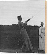 Mabel Hubbard Bell (1857-1923) Wood Print
