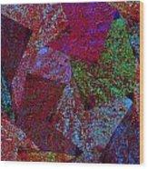 Magic Marbles Marvellous Colorful Pattern Spiral Sparkle Wonderland Kidsroom School Nursary Daycare  Wood Print