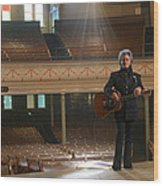 Marty Stuart Wood Print