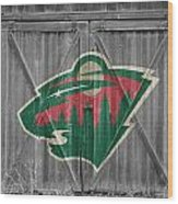 Minnesota Wild Wood Print