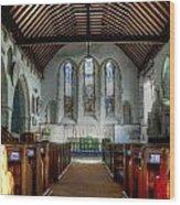 Minster Abbey Wood Print