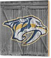 Nashville Predators Wood Print