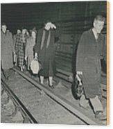 Nine Dead In Tube Disaster Wood Print