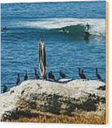 Ocean Beach Series Wood Print