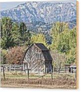 Palisades Barn Wood Print