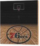 Philadelphia 76ers Wood Print