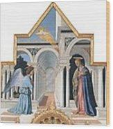 Pietro Di Benedetto Dei Franceschi Wood Print by Everett
