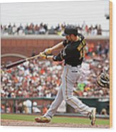 Pittsburgh Pirates V San Francisco 5 Wood Print