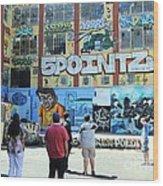5 Pointz Graffiti Art 3 Wood Print