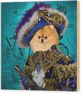 Pomeranian Art Canvas Print Wood Print