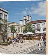 Ponta Delgada Wood Print