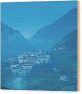 Preci Umbria Wood Print