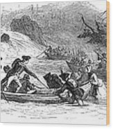 Quebec Expedition, 1775 Wood Print