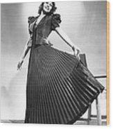 Rita Hayworth, Columbia Portrait, Circa Wood Print