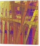 Schreien Wood Print