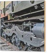 Seaboard Engine Wood Print