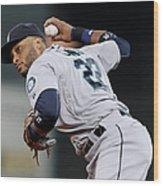 Seattle Mariners V Houston Astros Wood Print