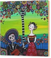 Serenata Wood Print by Pristine Cartera Turkus