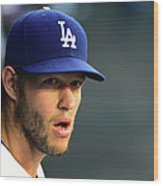 St Louis Cardinals V Los Angeles Dodgers 5 Wood Print