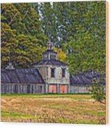 5 Star Barn Wood Print