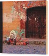 Streets Of Oaxaca Wood Print