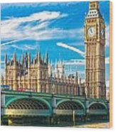 The Big Ben - London Wood Print