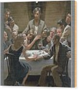 5. The Last Supper / From The Passion Of Christ - A Gay Vision Wood Print by Douglas Blanchard