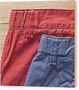Trousers Wood Print by Tom Gowanlock