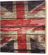 Union Jack Flag  Wood Print