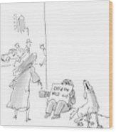 New Yorker September 12th, 2005 Wood Print