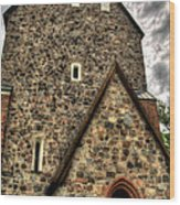 Uppsala Church - Gamia - Uppsala Sweden Wood Print