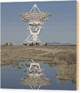 Very Large Array Wood Print