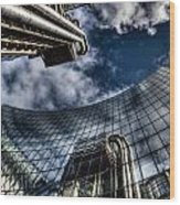Willis Group And Lloyd's Of London Wood Print