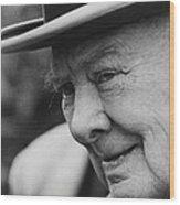 Winston Churchill Wood Print